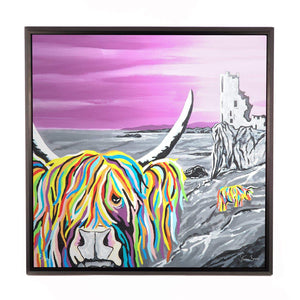 Ann & Jim McCoo - Framed Limited Edition Aluminium Wall Art