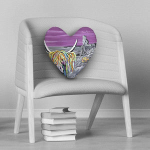 Ann & Jim McCoo - Heart Cushion