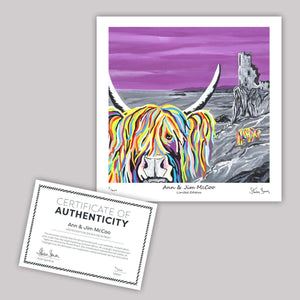 Ann & Jim McCoo - Mini Limited Edition Print