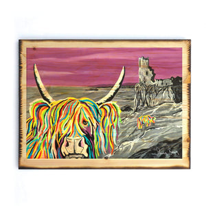 Ann & Jim McCoo - Timber Print