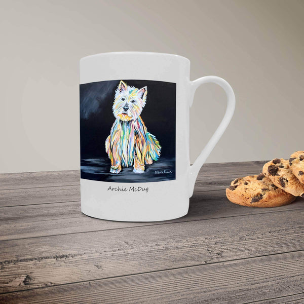 Archie McDug - Bone China Mug