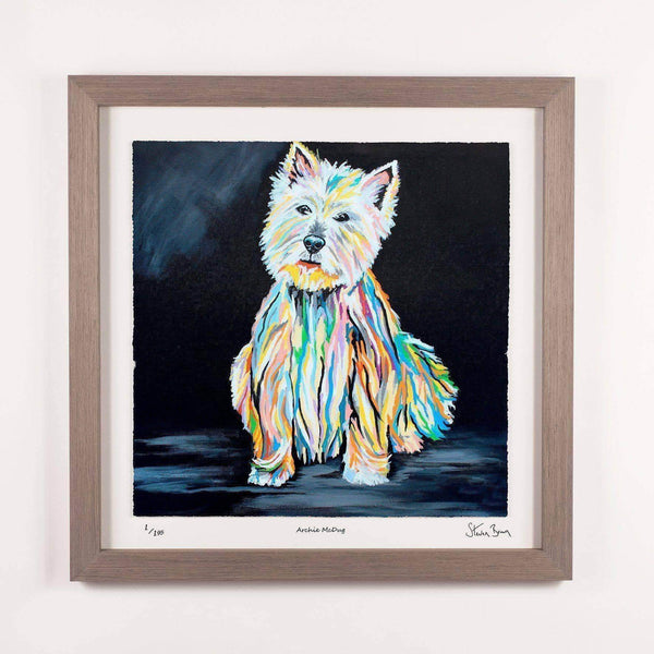 Archie McDug - Framed Limited Edition Floating Prints