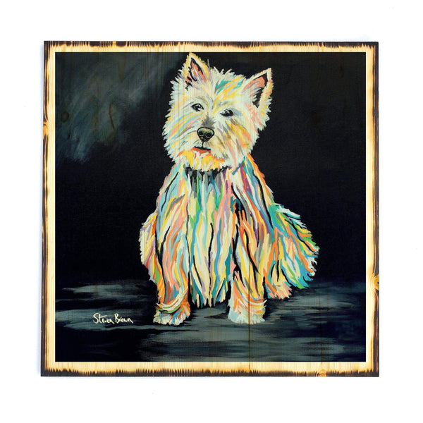 Archie McDug - Timber Print