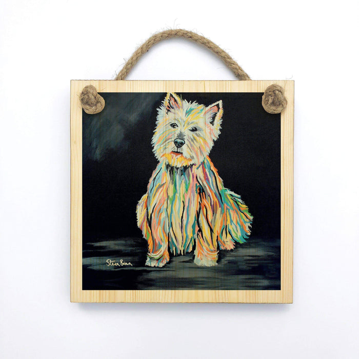 Archie McDug - Wooden Wall Plaque