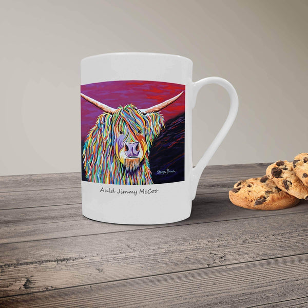 Auld Jimmy McCoo - Bone China Mug