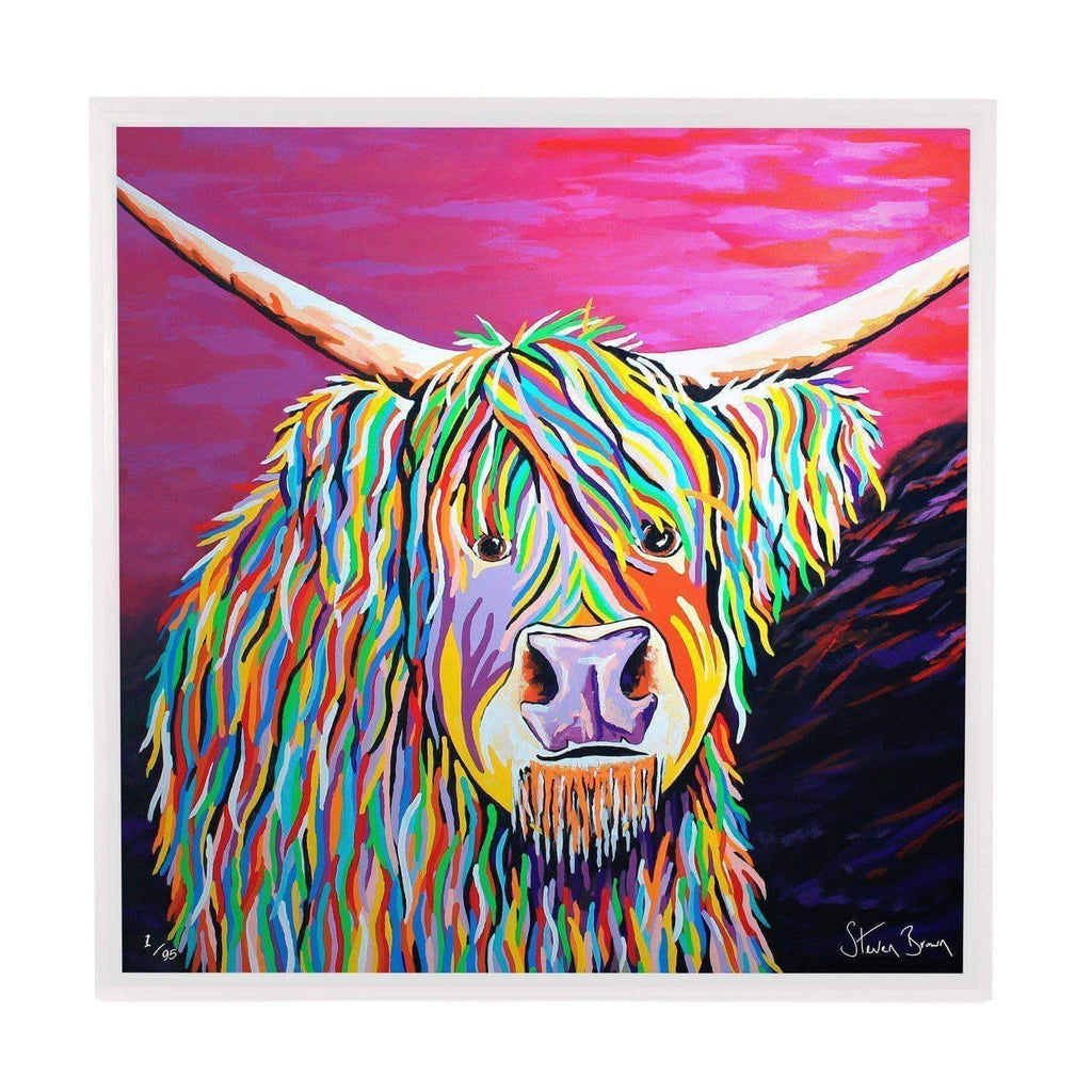 Auld Jimmy McCoo - Framed Limited Edition Aluminium Wall Art