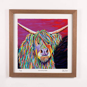 Auld Jimmy McCoo - Framed Limited Edition Floating Prints