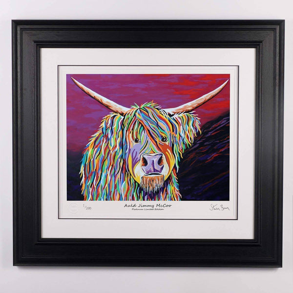 Auld Jimmy McCoo - Platinum Limited Edition Prints