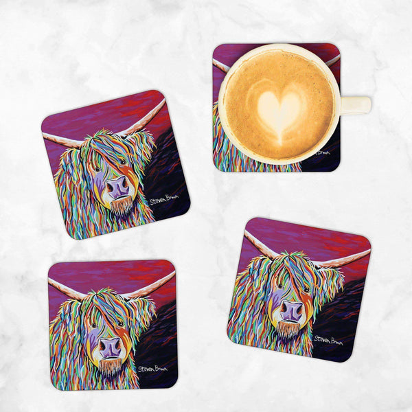 Auld Jimmy McCoo - Set of 4 Coasters