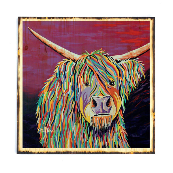 Auld Jimmy McCoo - Timber Print