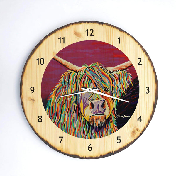 Auld Jimmy McCoo - Wooden Clock
