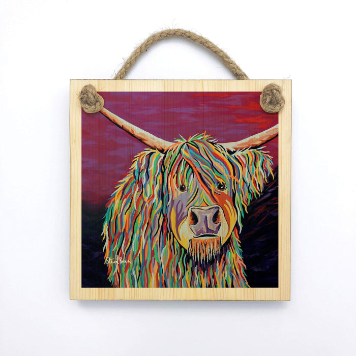 Auld Jimmy McCoo - Wooden Wall Plaque