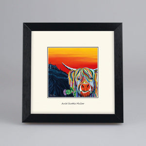 Auld Scottie McCoo - Digital Mounted Print