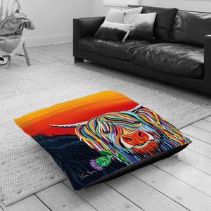 Auld Scottie McCoo - Floor Cushion