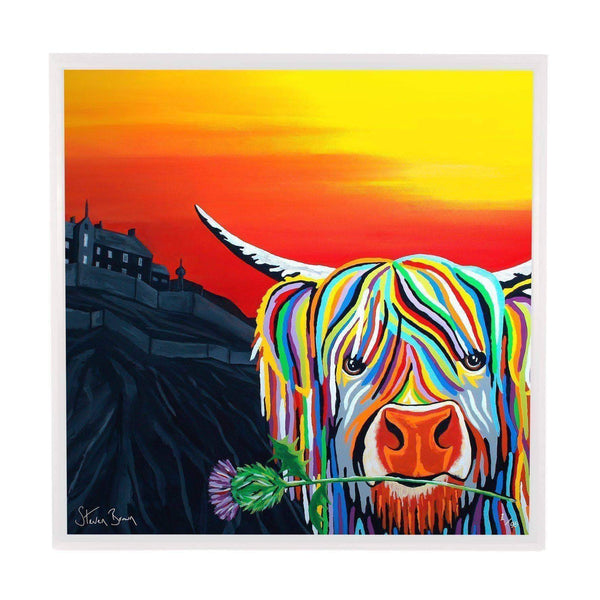 Auld Scottie McCoo - Framed Limited Edition Aluminium Wall Art