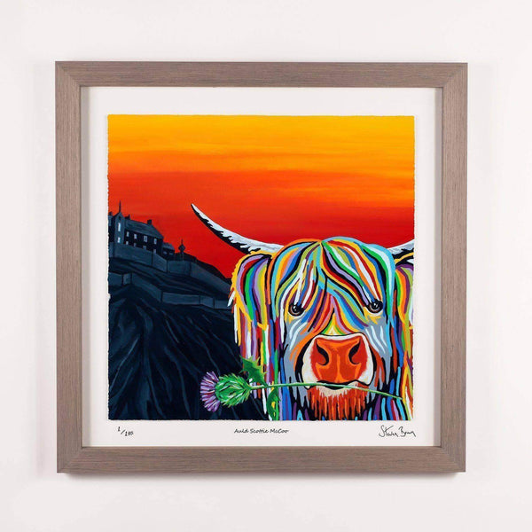 Auld Scottie McCoo - Framed Limited Edition Floating Prints