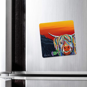 Auld Scottie McCoo - Fridge Magnet