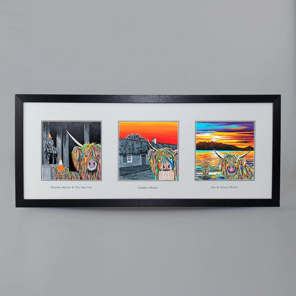 Ayr & Glasgow Collection - Triptych