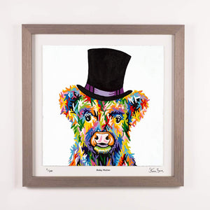 Baby McCoo - Framed Limited Edition Floating Prints