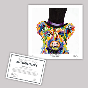 Baby McCoo - Mini Limited Edition Print
