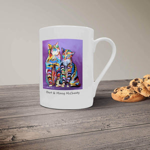 Bert & Morag McCheety - Bone China Mug