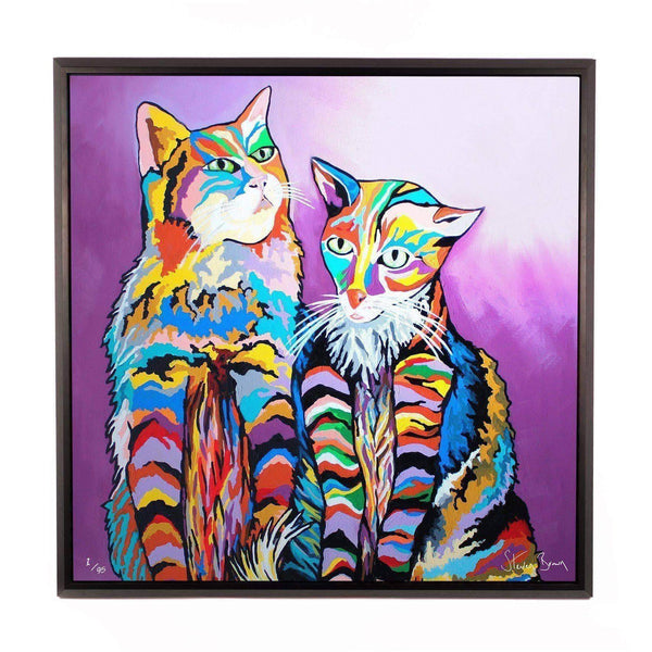 Bert & Morag McCheety - Framed Limited Edition Aluminium Wall Art