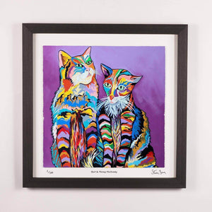 Bert & Morag McCheety - Framed Limited Edition Floating Prints