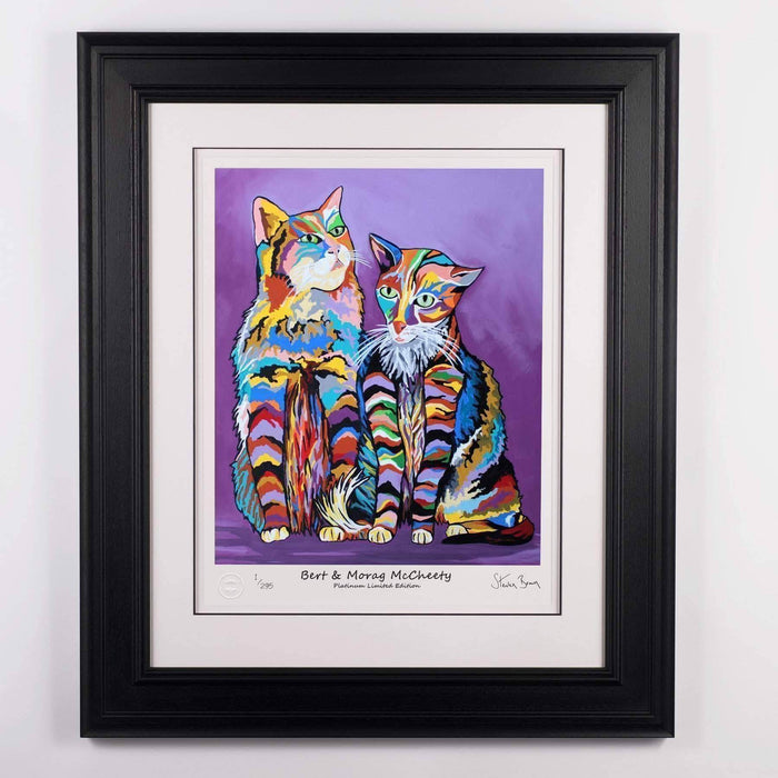 Bert & Morag McCheety - Platinum Limited Edition Prints