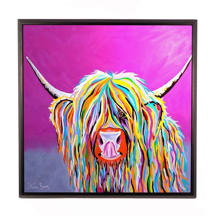 Betty McCoo - Framed Limited Edition Aluminium Wall Art