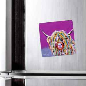 Betty McCoo - Fridge Magnet