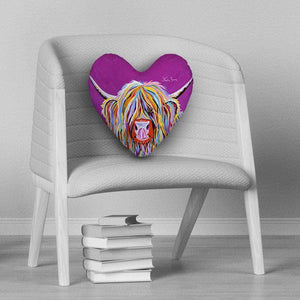 Betty McCoo - Heart Cushion
