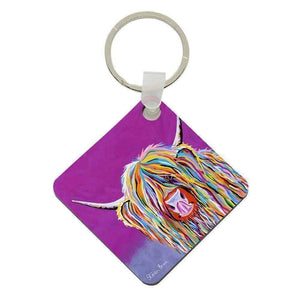 Betty McCoo - Keyring