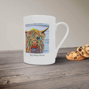 Big Malky McCoo - Bone China Mug