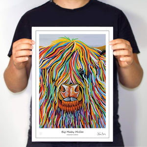 Big Malky McCoo - Collector's Edition Prints