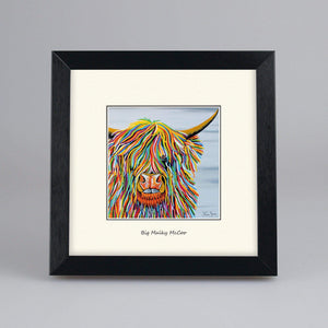 Big Malky McCoo - Digital Mounted Print