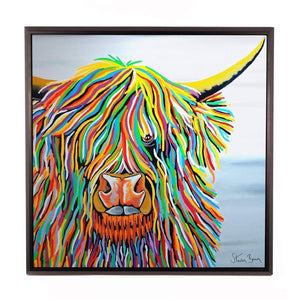Big Malky McCoo - Framed Limited Edition Aluminium Wall Art