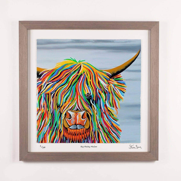 Big Malky McCoo - Framed Limited Edition Floating Prints