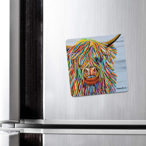 Big Malky McCoo - Fridge Magnet