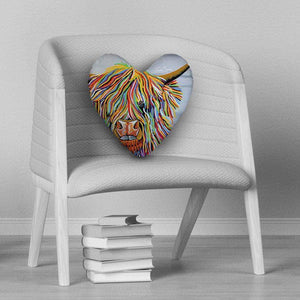 Big Malky McCoo - Heart Cushion