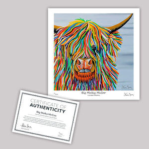 Big Malky McCoo - Mini Limited Edition Print