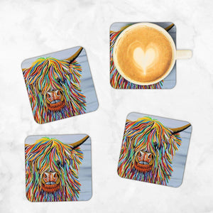 Big Malky McCoo - Set of 4 Coasters