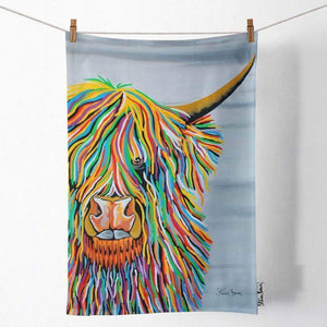 Big Malky McCoo - Tea Towel
