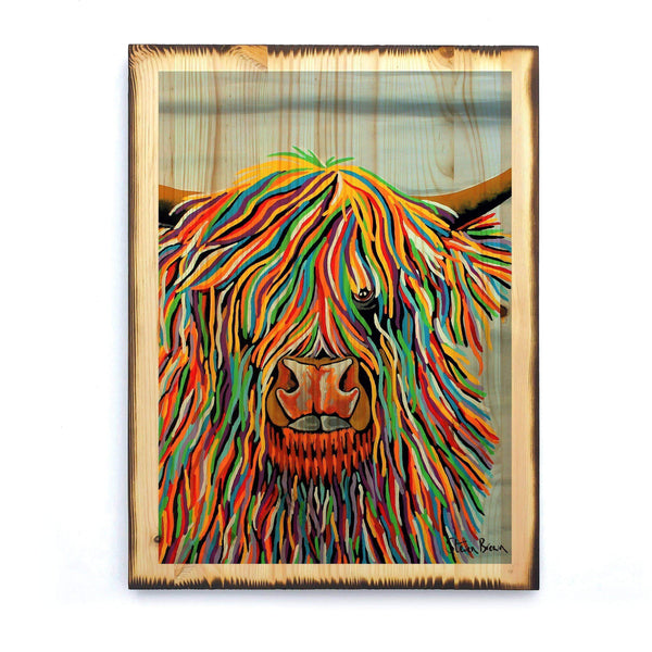Big Malky McCoo - Timber Print