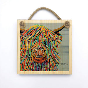 Big Malky McCoo - Wooden Wall Plaque
