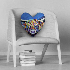Billy McCoo - Heart Cushion