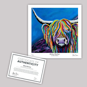 Billy McCoo - Mini Limited Edition Print