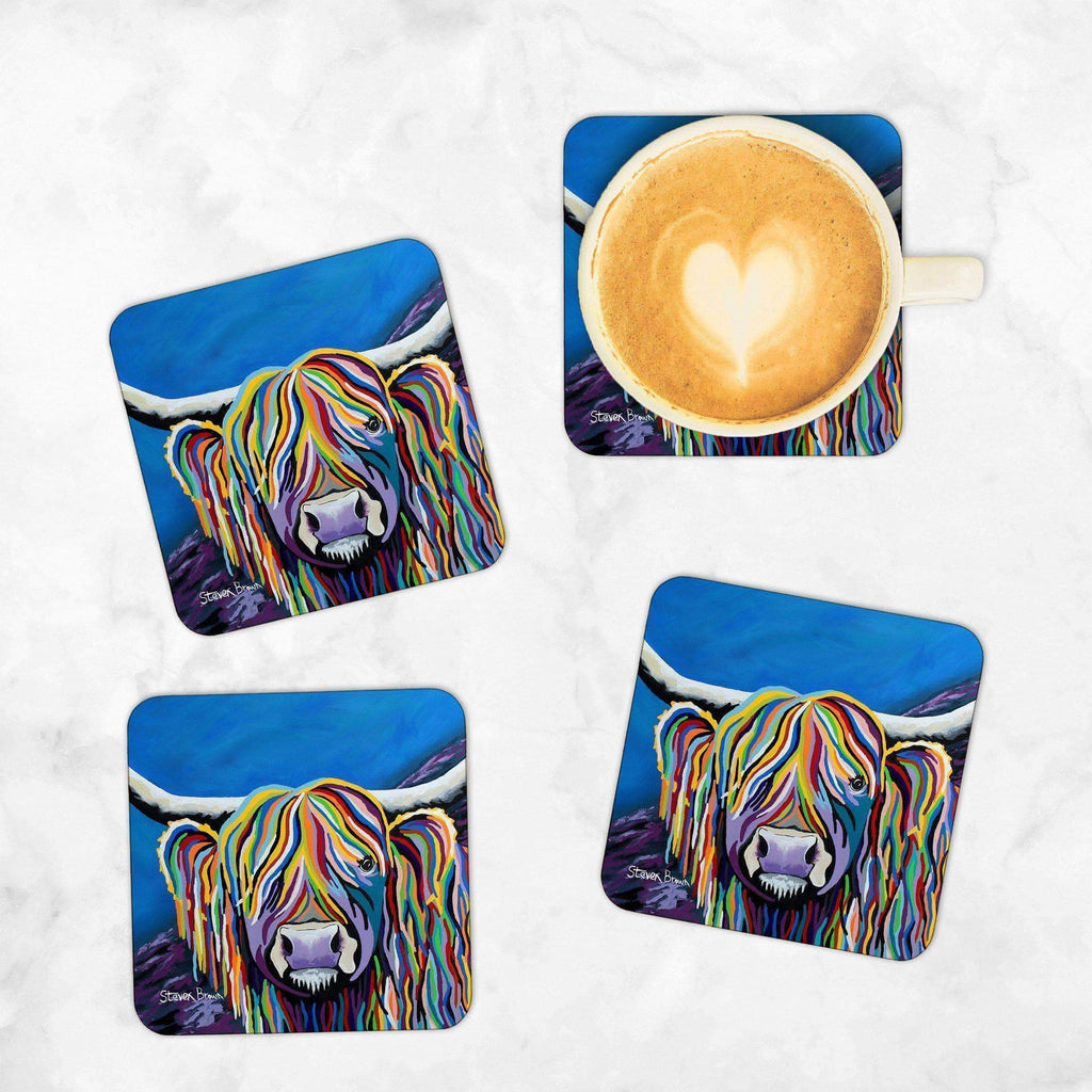 Billy McCoo - Set of 4 Coasters