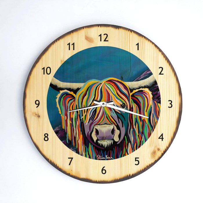 Billy McCoo - Wooden Clock