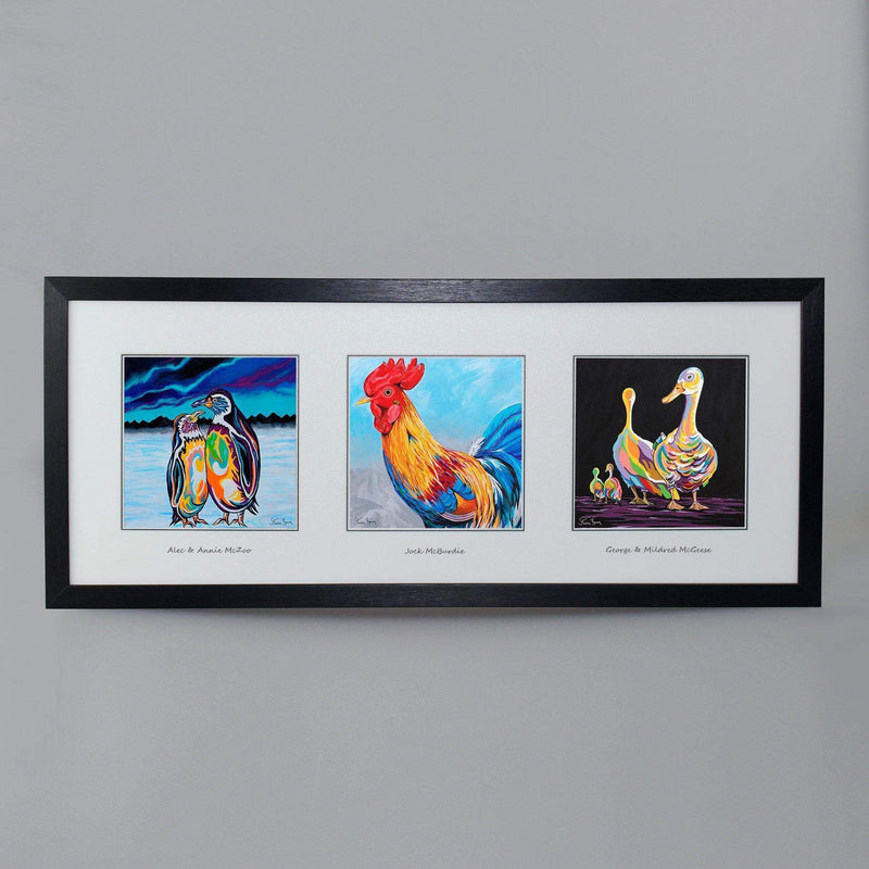 Birds Of A Feather Collection - Triptych