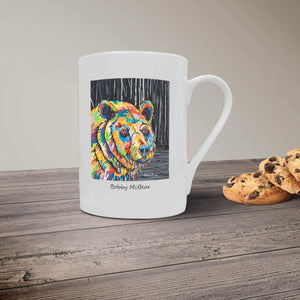 Bobby McBear- Bone China Mug